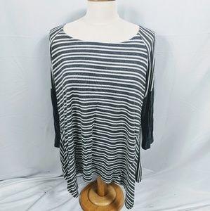 Hailey & Co. Striped Long Sleeve Top